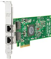 458492-B21 Сетевая Карта HP NC382T Dual Port Multifunction Gigabit Server Adapter (Broadcom) BCM5709CC0KPBG 2x1Гбит/сек 2xRJ45 LP PCI-E4x