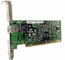 W1392 Сетевая Карта Dell (Intel) PWLA8490MT Pro/1000 MT Single Port Server Adapter i82545GM 10/100/1000Мбит/сек RJ45 LP PCI/PCI-X
