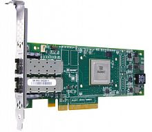 QLE2562-CK Qlogic 8Gbps dual-port Fibre Channel-to-x4/x8 PCI Express adapter, multi-mode optic