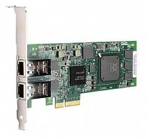 QLE4062C-CK Qlogic Dual-port 1GbE iSCSI / Network-to-x4 PCI Express adapter, copper