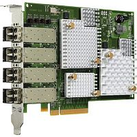 LPe11004 Emulex 4Gb/s Fibre Channel PCI Express 1.0 Quad Channel Host Bus Adapter
