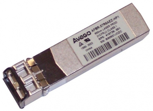 416729-001 Transceiver SFP HP [Finisar] FTLF8524P2BNV 4,25Gbps MMF Short Wave 850nm 550m Pluggable miniGBIC FC4x
