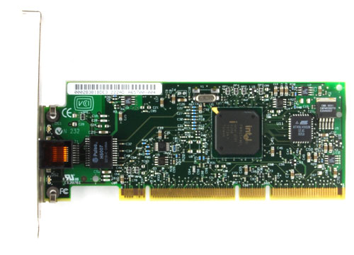 1H895 Сетевая Карта Dell (Intel) PWLA8490XT Pro/1000 XT Single Port Server Adapter i82544EI 10/100/1000Мбит/сек RJ45 LP PCI/PCI-X