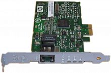 395866-001 Контроллер HP NC320T PCI Express Gigabit NIC board - Has one RJ-45 connector, single port, uses copper cabling, 40KB onboard memory, supports 10/100/1000Mbps ethernet speeds, 11.43cm (4.5in) x 7.62cm (3.0in)