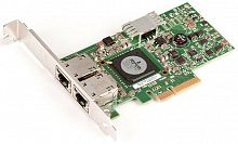 G218C Сетевая Карта Dell (Broadcom) BCM5709CC0KPBG Dual Port Server Adapter 2x1Гбит/сек 2xRJ45 LP PCI-E4x