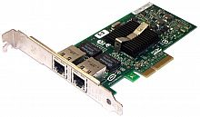 412646-001 Сетевая карта HP Intel NC360T PCIe 2-port Gigabit (1000Base-T) server NIC adapter - Includes a standard-height bracket attached