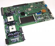 1U847 Материнская Плата Dell ServerWorks GC-SL Dual Socket 603 6DDR UW160SCSI U100 3PCI-X PCI 2SCSI 2LAN1000 Video ATX 400Mhz For PowerEdge 2650