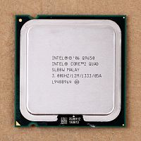 Q9650 ПРОЦЕССОР Intel Core 2 Quad Processor Q9650 (12M Cache, 3.00 GHz, 1333 MHz FSB)