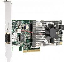 414126-B21 Сетевой Адаптер HP NC510F HSTNS-BN21 10Gigabit Server Adapter 10Гбит/сек Single Channel Fiber Channel HBA LP PCI-E8x