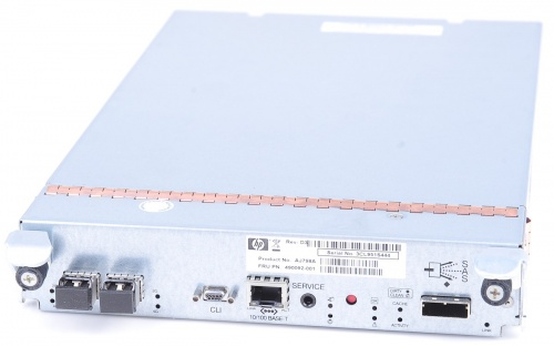 490092-001 Fiber Channel controller - For HP StorageWorks MSA2300fc Dual Controller Array series