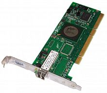 4U852 Сетевой Адаптер Dell (Qlogic) FCA2214 QLA2340-CK FC5010409-31 2Гбит/сек Single Port Fiber Channel HBA LP PCI-X