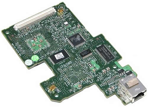 NJ024 Контроллер Dell DRAC IV Remote Access Controller LAN Modem For PowerEdge 1800 1850 2800 2850