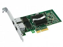 X3959 Сетевая Карта Dell (Intel) EXPI9402PT Pro/1000 PT Dual Port Server Adapter i82571EB 2x1Гбит/сек 2xRJ45 LP PCI-E4x