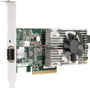 414129-B21 Сетевой Адаптер HP NC510C HSTNS-BN22 10Gigabit Server Adapter 10Гбит/сек Single Channel Fiber Channel HBA LP PCI-E8x