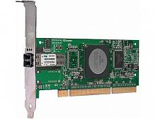 QLA2440-CK Qlogic 4Gbps Fibre Channel to PCI-X 2.0 HBA Single Port Optic