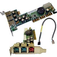 394197-001 Контроллер HP (MSI) MS-6993 Powered USB Adapter AGP Card 2-12V 3USB v.2.0 2x12v 1x24v AGP4x For POS Systems rp5000 rp5700