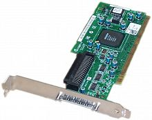 366638-001 Контроллер HP 64-bit/133MHz PCI-X single-channel Ultra320 SCSI G1 Host Bus Adapter (HBA) 1 internal/1 external