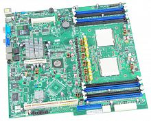 XK007 Материнская Плата Dell Broadcom HT-2100 Quad S-F 12DualDDRII-667 9PCI-E8x 2xGbLAN E-ATX 2000Mhz For PowerEdge 6950