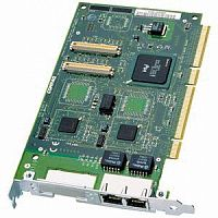 138603-B21 Сетевая Карта HP NC3134 (Intel) Dual Port Server Adapter i21154BC 2xi82559 10/100Мбит/сек 2xRJ45 PCI/PCI-X