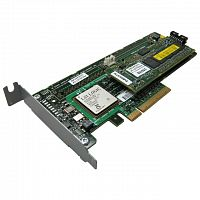 404987-001 Emulex LPe1105 FC Dual Channel 4Gb, PCI-E-to-Fibre Channel Host Bus Adapter