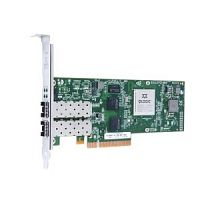 QLE8242-CU-CK Qlogic Dual-port 10GbE Ethernet to PCIe Converged Network Adapter with empty SFP+ cages